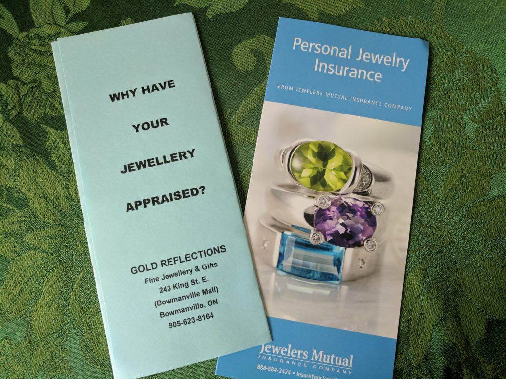 Jewellery Appraisal and Insurance